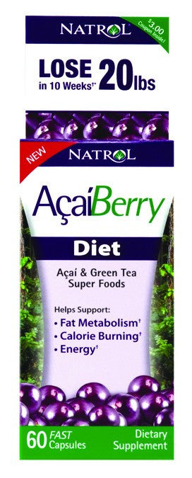 Dietary Supplement - Natrol Acai Diet 60 CAP