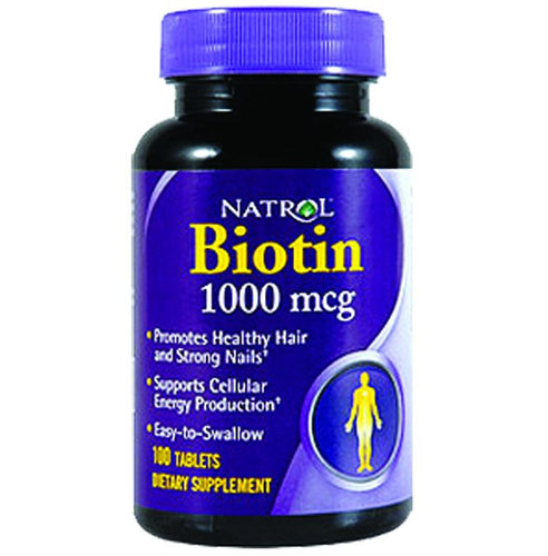Dietary Supplement - Natrol Biotin 1000 Mcg 100 TAB