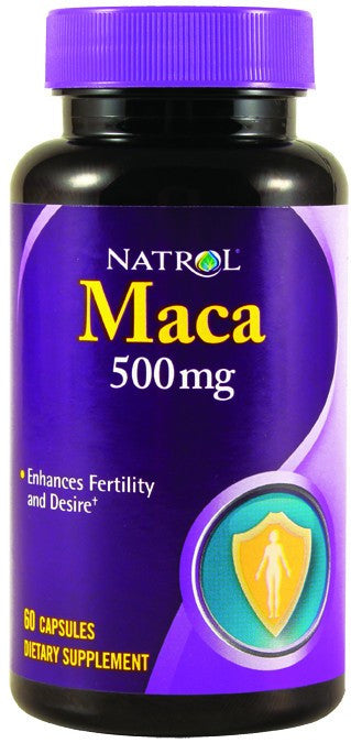 Dietary Supplement - Natrol Maca Root 500mg 60 CAP