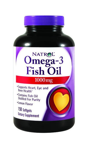 Dietary Supplement - Natrol Omega 3 1000mg 150 GCP