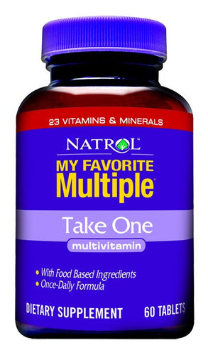 Dietary Supplement - Natrol Take One Multiple 60 TAB