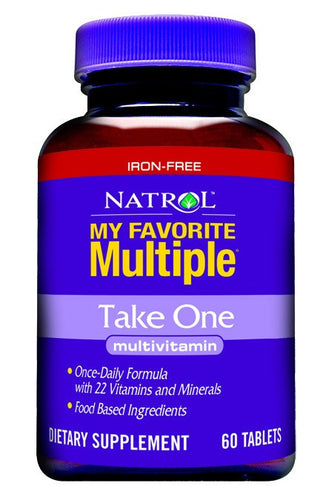 Dietary Supplement - Natrol Take One Multiple W/o Iron 60 TAB