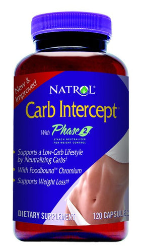 Dietary Supplement - Natrol White Kidney Bean CarbIntercept 120 CAP