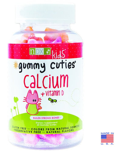 Dietary Supplement - Natural Dynamix Gummy Kids Calcium & Vitamin D 60 Count