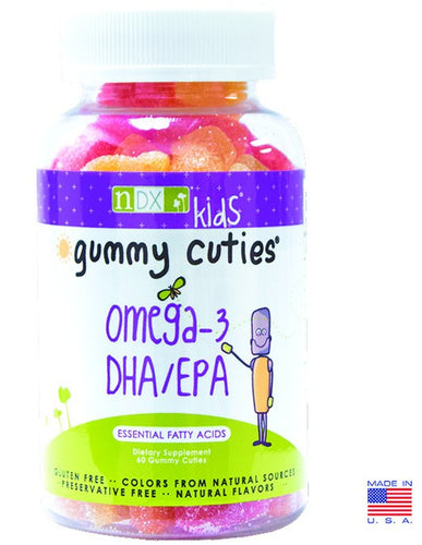 Dietary Supplement - Natural Dynamix Gummy Kids Omega-3 DHA/EPA 60 Count