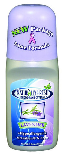 Dietary Supplement - Naturally Fresh Lavender Roll-On Deodorant 3 OZ