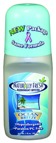 Dietary Supplement - Naturally Fresh Ocean Breeze Roll-On Deodorant 3 OZ