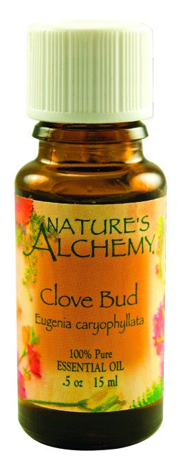 Dietary Supplement - Nature's Alchemy Clove Bud .5 OZ Essential Oil