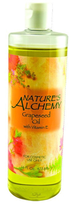 Dietary Supplement - Nature's Alchemy Grapeseed Oil 16 OZ Essential Oil
