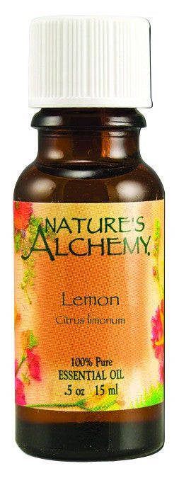 Dietary Supplement - Nature's Alchemy Lemon .5 OZ Essential Oil