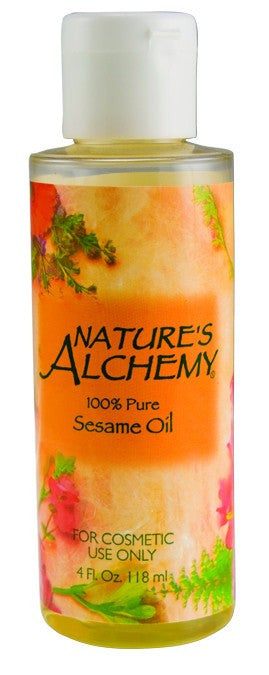 Dietary Supplement - Nature's Alchemy Sesame Oil 4 OZ Essential Oil