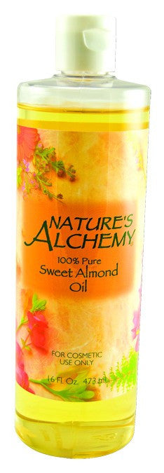 Dietary Supplement - Nature's Alchemy Sweet Almond Oil 16 OZ