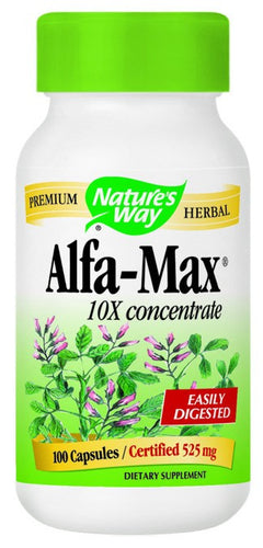 Dietary Supplement - Nature's Way Alfa Max 100 CAP