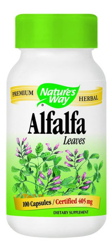 Dietary Supplement - Nature's Way Alfalfa Leaves COG 100 CAP