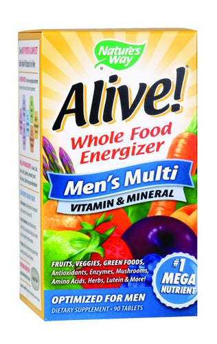 Dietary Supplement - Nature's Way Alive Men's Multi 90 TAB