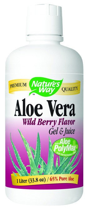Dietary Supplement - Nature's Way Aloe Vera Gel And Juice Berry 1 LTR