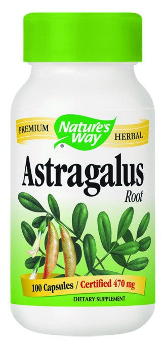 Dietary Supplement - Nature's Way Astragalus Root 100 CAP
