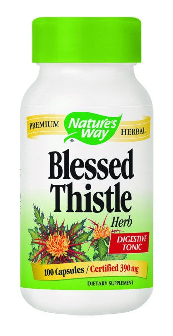 Dietary Supplement - Nature's Way Blessed Thistle Herb 100 CAP