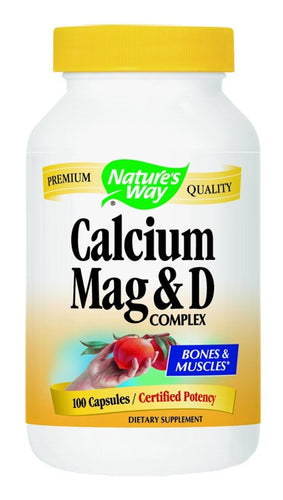 Dietary Supplement - Nature's Way Calcium Magnesium Vitamin D 100 CAP