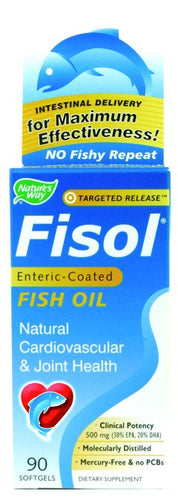 Dietary Supplement - Nature's Way Fisol Fish Oil 90 SFG