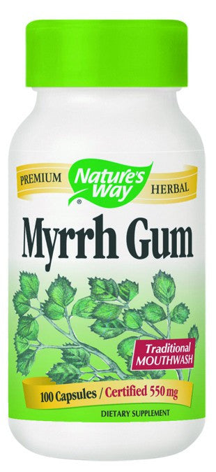 Dietary Supplement - Nature's Way Myrrh Gum 100 CAP