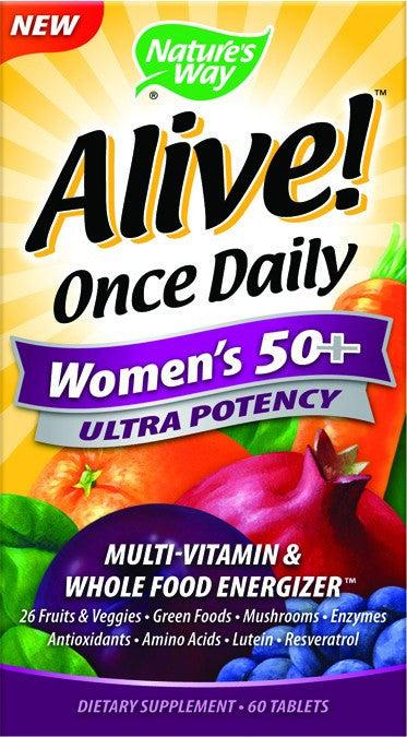 Dietary Supplement - Nature's Way Once Daily Woman's 50+ Multi 60 TAB