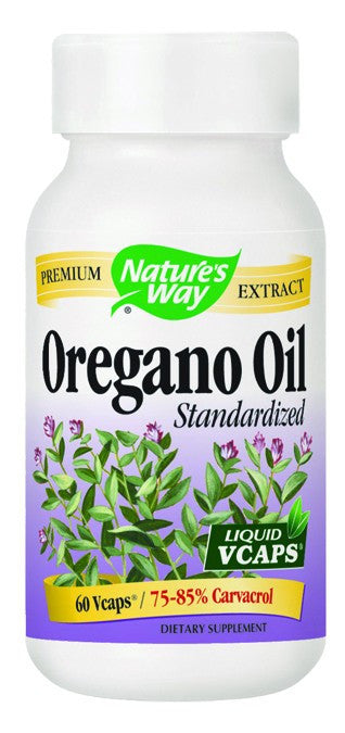 Dietary Supplement - Nature's Way Oregano Oil 60 SFG