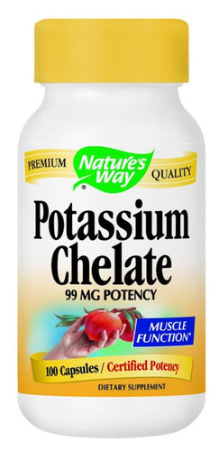 Dietary Supplement - Nature's Way Potassium 100 CAP