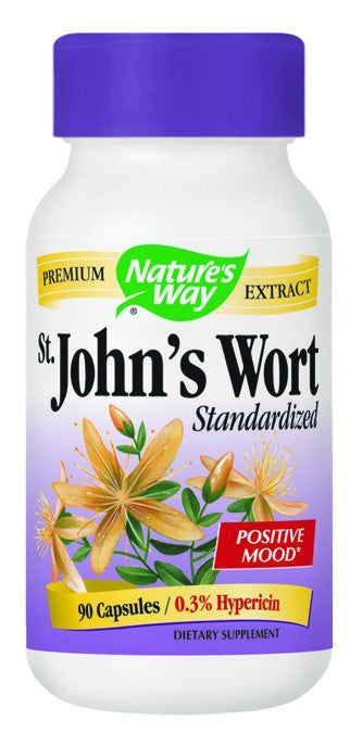 Dietary Supplement - Nature's Way St. John's Wort 90 CAP