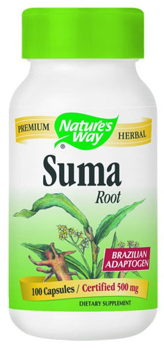 Dietary Supplement - Nature's Way Suma Brazilian Ginseng 100 CAP