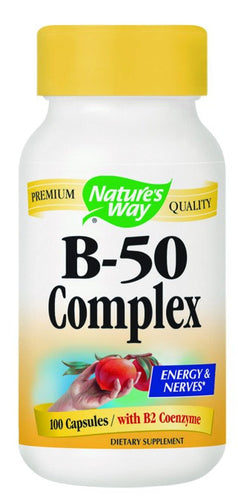 Dietary Supplement - Nature's Way Vitamin B 50 Complex 100 CAP