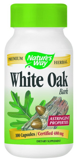 Dietary Supplement - Nature's Way White Oak Bark 100 CAP