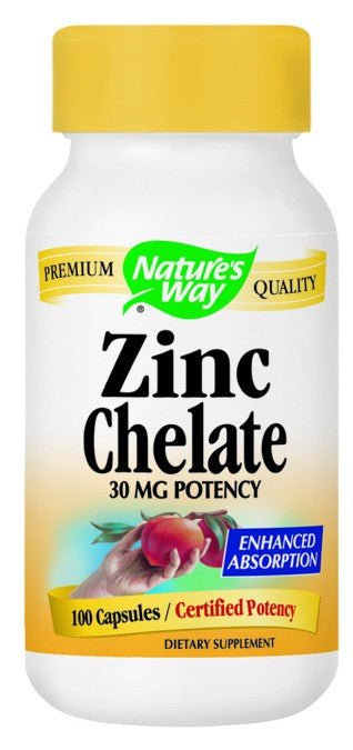 Dietary Supplement - Nature's Way Zinc 100 CAP