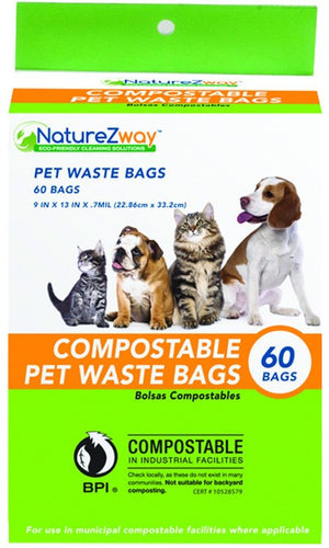 Dietary Supplement - Naturezway Pet Waste Bags 60 CT
