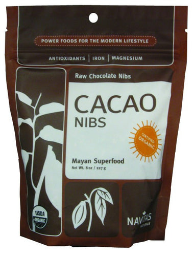 Dietary Supplement - Navitas Organics Cacao Nibs 8 OZ
