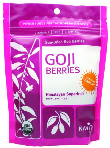 Dietary Supplement - Navitas Organics Goji Berries 4 OZ