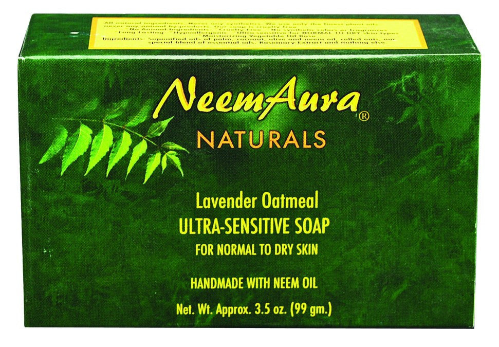 Dietary Supplement - Neem Soap Lavender Oatmeal 3.3 OZ