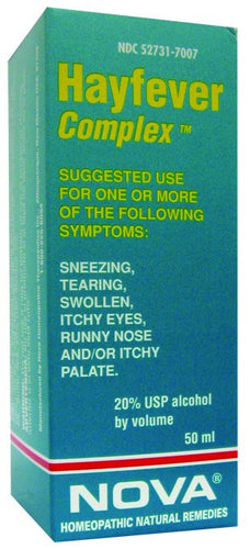 Dietary Supplement - Nova Homeopathic Allergy Complex 1.7 OZ