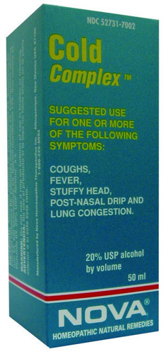 Dietary Supplement - Nova Homeopathic Cold Complex 1.7 OZ