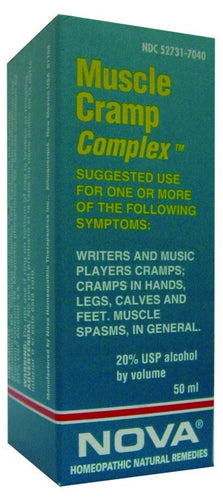 Dietary Supplement - Nova Homeopathic Muscle Cramp Complex 1.7 OZ