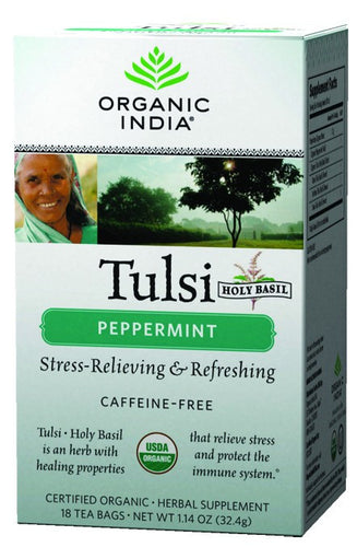 Dietary Supplement - Organic India Peppermint Tea 18 CT