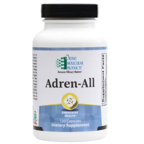 Dietary Supplement - Ortho Molecular Products, Adren-All, 120 Capsules