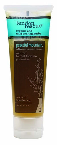 Dietary Supplement - Peaceful Mountain Tendon Rescue Gel 3.5 OZ