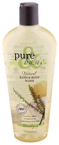 Dietary Supplement - Pure & Basic Revitalizing Body Wash 12 OZ