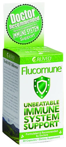 Dietary Supplement - R-U-VED Flucomune Immune System Support 60 CAP