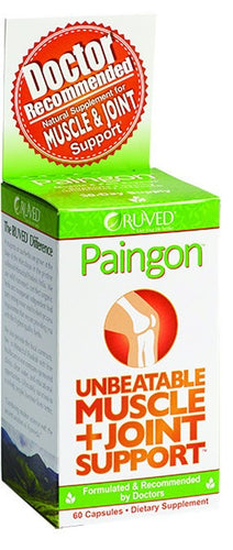 Dietary Supplement - R-U-VED Paingon Muscle & Joint Support 60 CAP
