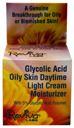 Dietary Supplement - Reviva Labs Glycolic Oily Skin Cream 1.5 OZ