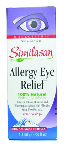 Dietary Supplement - Similasan Allergy Eye Relief 10ml Eye Drops .33 OZ