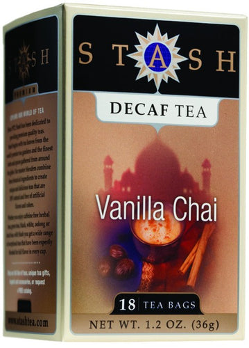 Dietary Supplement - Stash Tea Vanilla Chai Spice Tea Decaf 18 CT