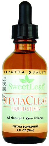 Dietary Supplement - Sweetleaf Stevia Extract - Clear Liquid 2 OZ